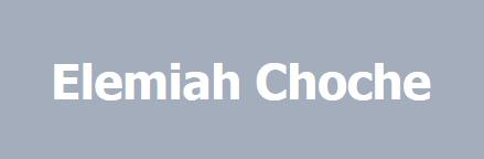 elemiahchoche-logo