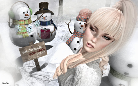Elemiah - Snowmen for sale - 1