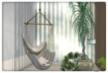 The hammock. (blog)