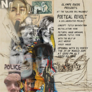 Flyer Poetical Revolt