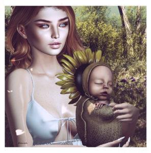 Sunflower baby (blog)