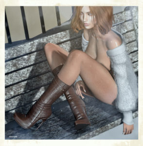 Girl and boots (blog)
