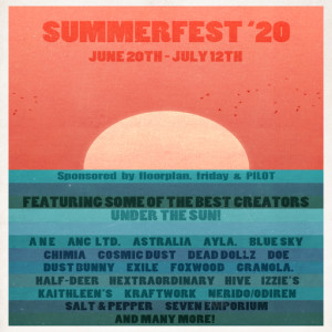 Summerfest '20 Official Poster blog