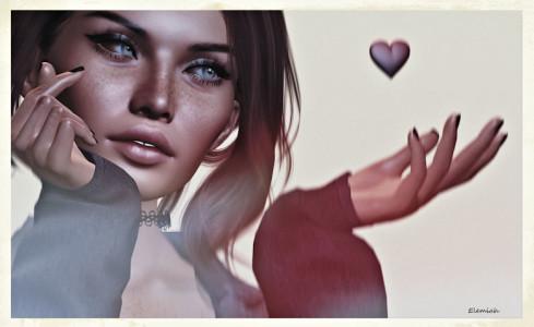Finger heart.blog